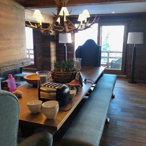 Petit Chamois dining room