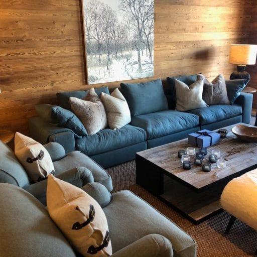 Petit Chamois living room