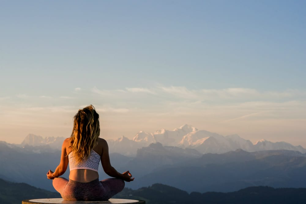 health and relaxation holiday in alps