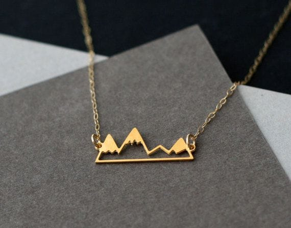 mountain inspired jewellery