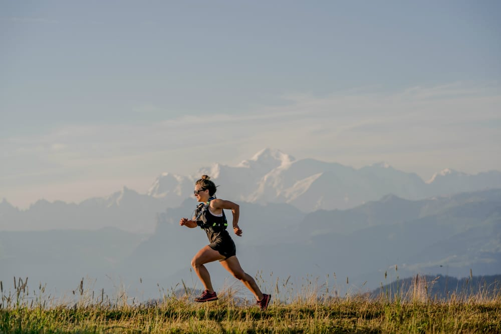 running holiday in french alps