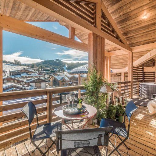 Consensio Apartment Ben Nevis Balcony2