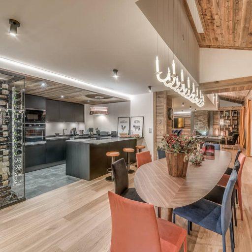 Consensio Apartment Ben Nevis Dining Room