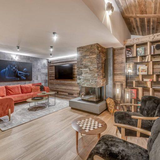 Consensio Apartment Ben Nevis Living Room2
