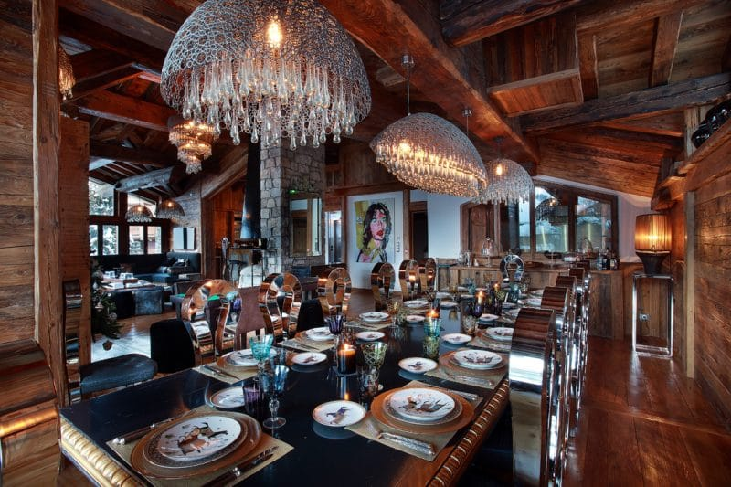 chalet Marco Polo Dining room