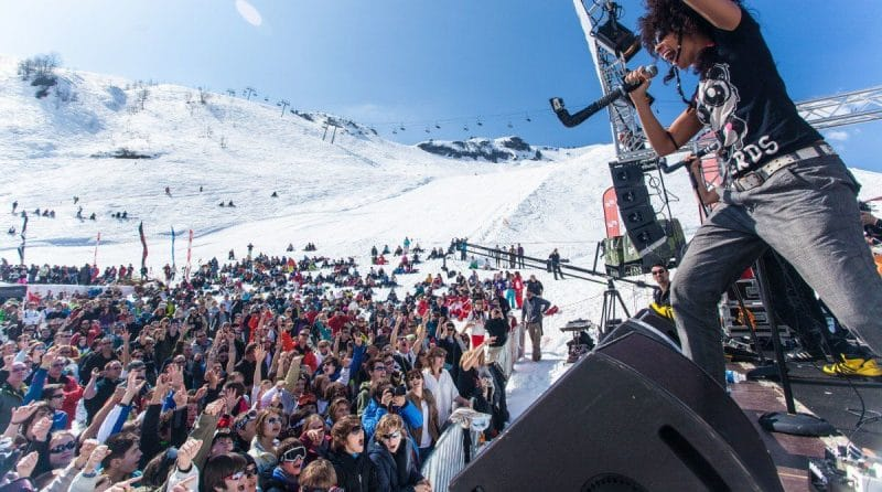 rock the pistes festival les gets