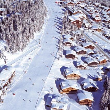Chalet Shatoosh aerial photo
