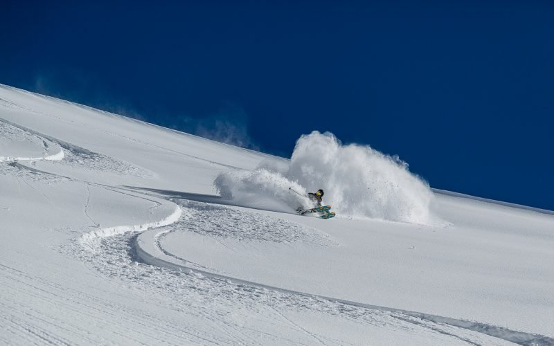 Best Off piste skiing in Chile ©Brice Lequertier