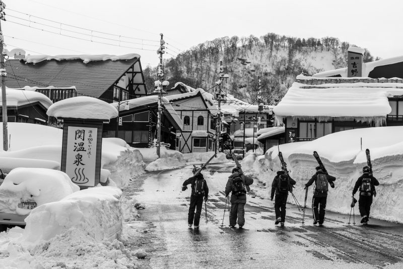 Best Off piste skiing in Japan ©Brice Lequertier