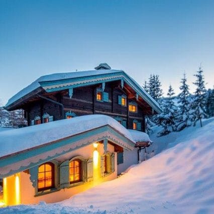 Chalet Shatoosh Courchevel Consensio exterior