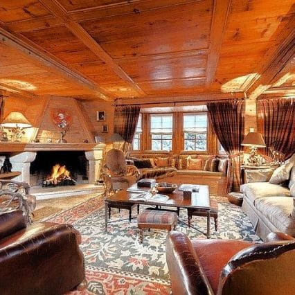 Chalet Shatoosh Courchevel Consensio Living Room