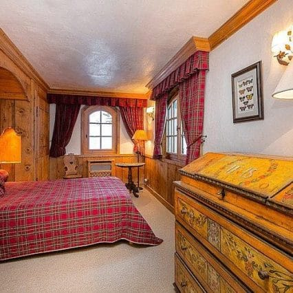 Chalet Shatoosh Courchevel Consensio Double Room
