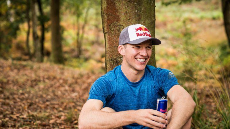 Tom Evans, a proud Red Bull sponsored athlete