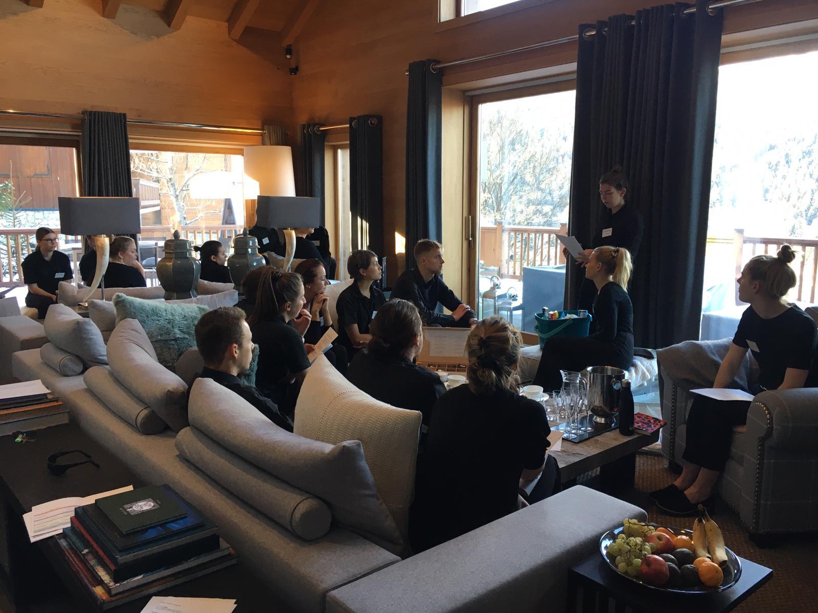 Consensio Chalets winter training