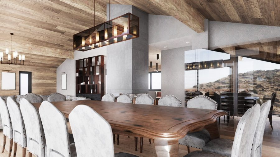 Chalet Bacchus Dining Table
