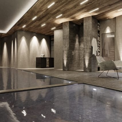 Chalet Bacchus Pool and Spa