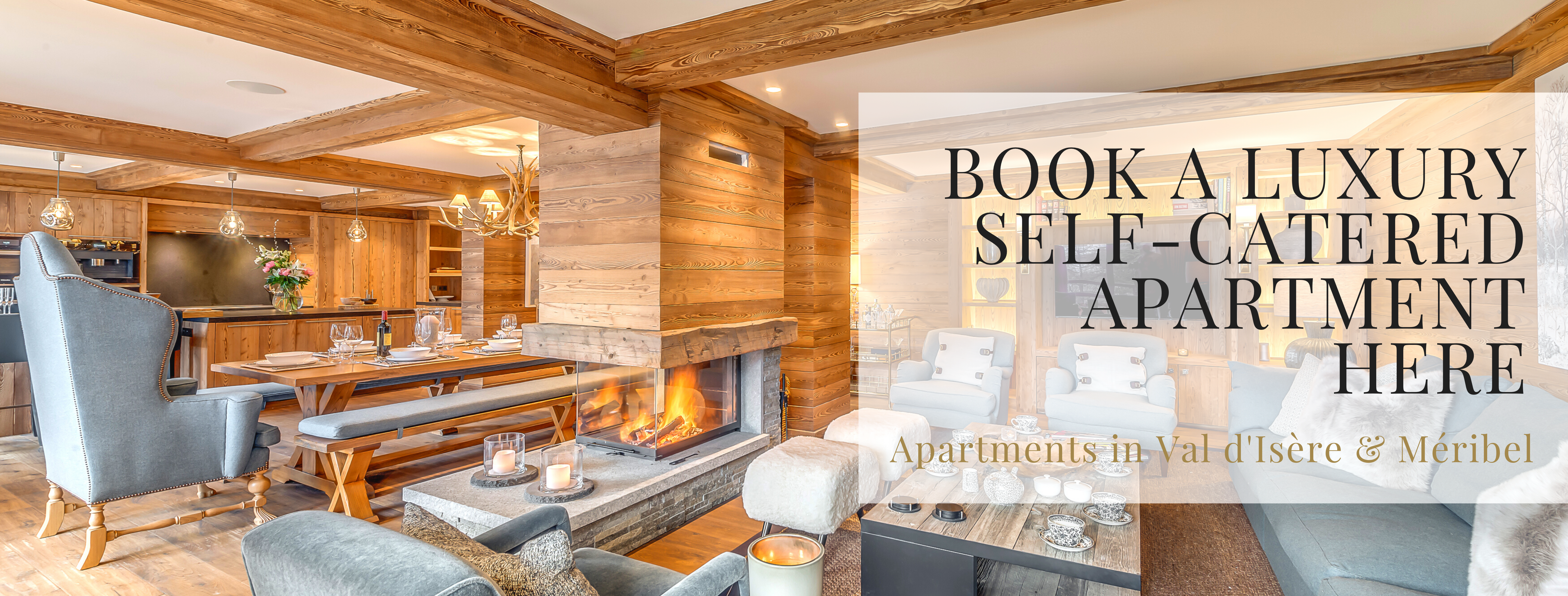 Luxury self catered ski apartments in france