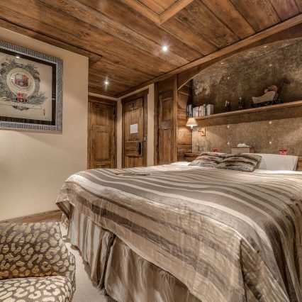 Chalet Chopine Bedroom Meribel - Consensio
