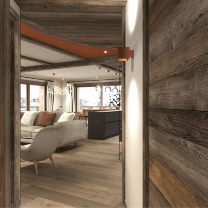 Self-Catered Apartment Jossane - Méribel - Consensio - Hallway