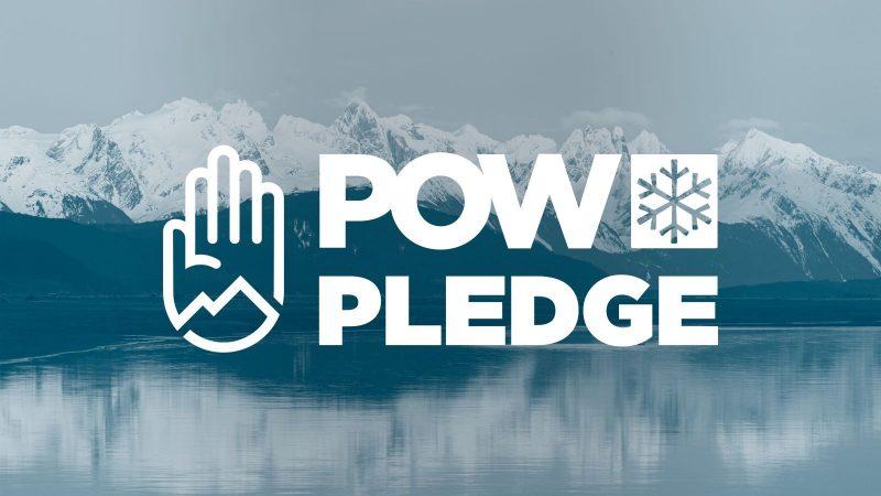 pow pledge logo